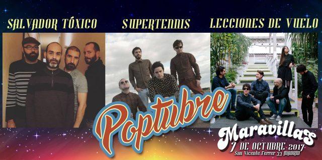 POPTUBRE: Tu fiesta POP de música independiente, en OCTUBRE, en Madrid