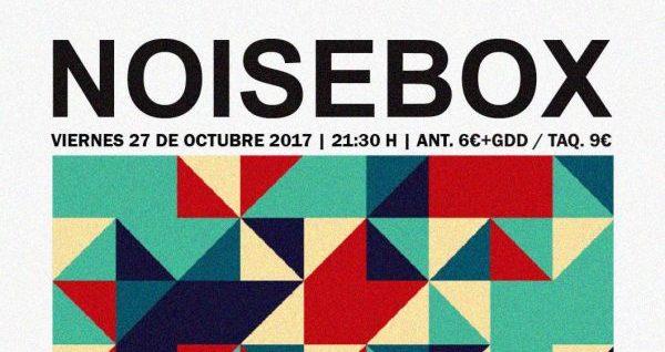 La banda murciana Noise Box nos presenta su último disco
