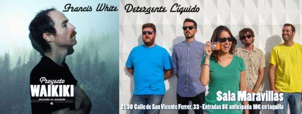 El colectivo Proyecto Waikiki cierra el año a lo grande: Detergente Líquido + Francis White + Waikiki Djs