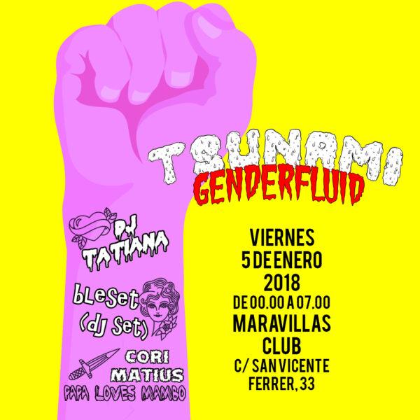 ¡Recibe a los Reyes Magos bailando! Fiesta Tsunami Genderfluid especial Noche de Reyes