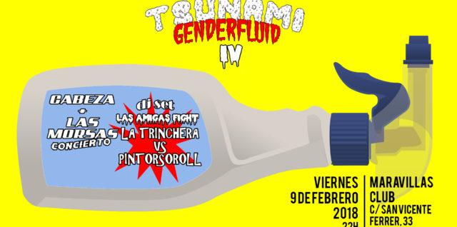 Tsunami Genderfluid IV - El primer festival de género fluido de Malasaña, Madrid, el mundo...