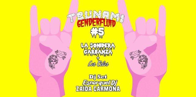 Tsunami Genderfluid V – El primer festival de género fluido de Malasaña, Madrid, el mundo…