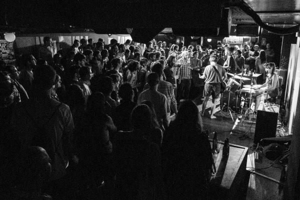 RIDER. Concierto de Trash Kit, 11/09/2015. Foto: Álvaro Andor
