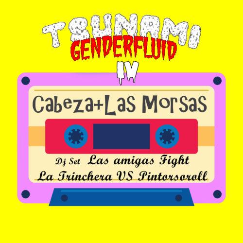 Carteles para Tsunami Genderfluid cortesía de Putochinomaricón aka Chenta Tsai