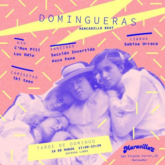 Reinventa la tarde de los domingos con Domingueras #3: música, fanzines, ropa y más