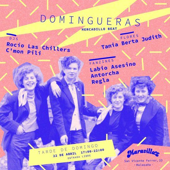 Reinventa la tarde de los domingos con Domingueras #4: música, fanzines, ropa y más