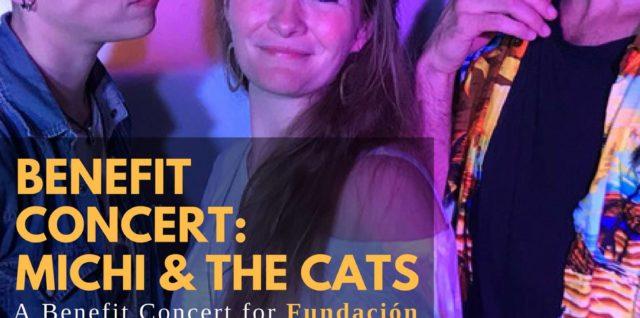 Michi& The Cats nos traen su música y su talento por una buena causa: Los beneficios del concierto irán para la Fundación Eddy