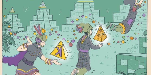 Las Pirámides yCosmo K presentan sus nuevos discos, ambos editados este septiembre. Les acompañan, para redondear la velada, sus amigos de Puzzles y Dragones