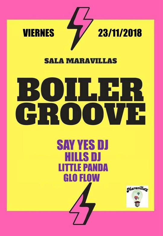 Boiler Groove: Guateque malasañero hecho por y para bailar
