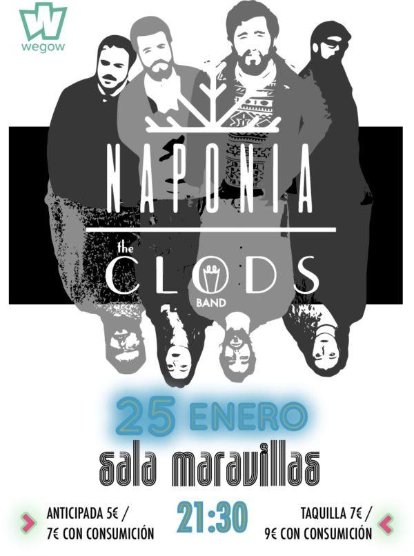Naponia llega a Madrid para presentar su segundo trabajo