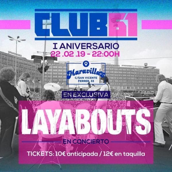 Celebramos el I Aniversario de Club 61 por todo lo alto