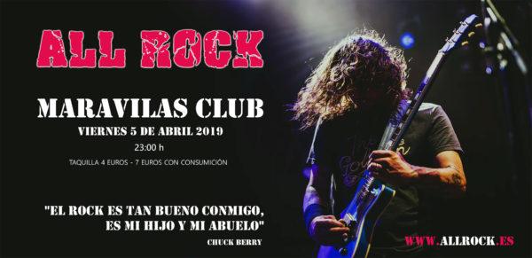 All Rock: Los mejores de temas del rock contemporáneo