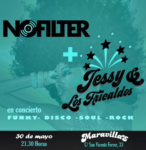 NoFilter + Los Fricaldos >> Mucho funk