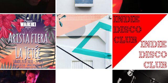 Agenda del 18 al 20 de julio 🌊 Dream summer pop