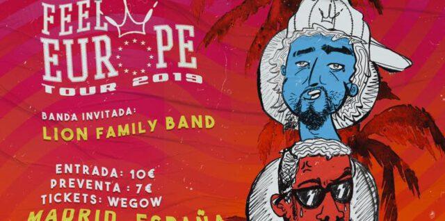 El reggae y dancehall de los colombianos Doris Vespa, por primera vez en España