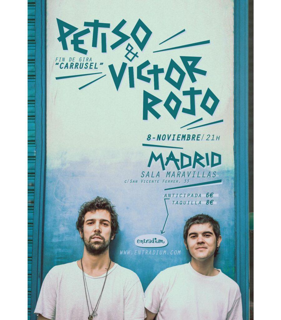 Petiso y Víctor Rojo: Canciones rockeras con mucho sentimiento