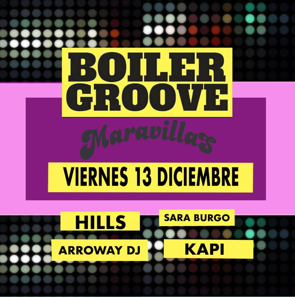 Boiler Groove es música disco, nu-disco, italo disco, funk electrónico