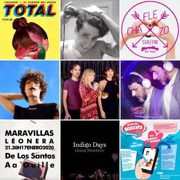 Agenda de la semana: 17-18 de enero en Maravillas Club