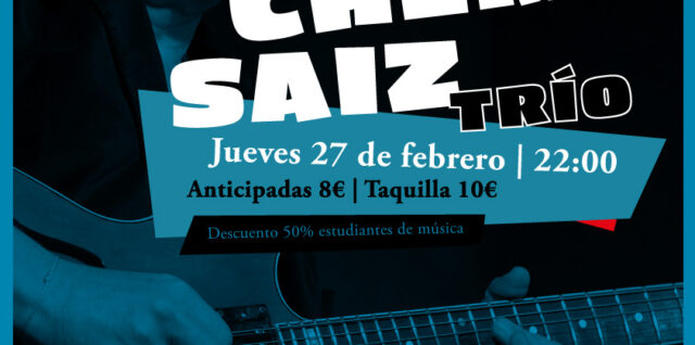 El jazz vuelve a Maravillas con el trío de Chema Saiz