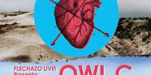 Sábado 21 de marzo Flechazo Live! Owl C, Íñigo Soler, Wide Valley // Flechazo Club